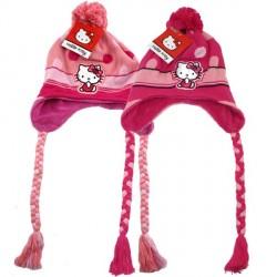 Čepice S Bambulí Hello Kitty Peruvian Červená / Růžová Vel.  54