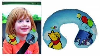 Dětský cestovní polštářek Medvídek Pů a oslík