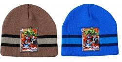 Chlapecká podzimní čepice Avengers Modrá / Hnědá