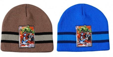 Chlapecká podzimní čepice Avengers Modrá / Hnědá / vecizfilmu