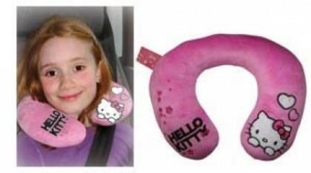 Dětský Cestovní Polštářek Hello Kitty Růžová
