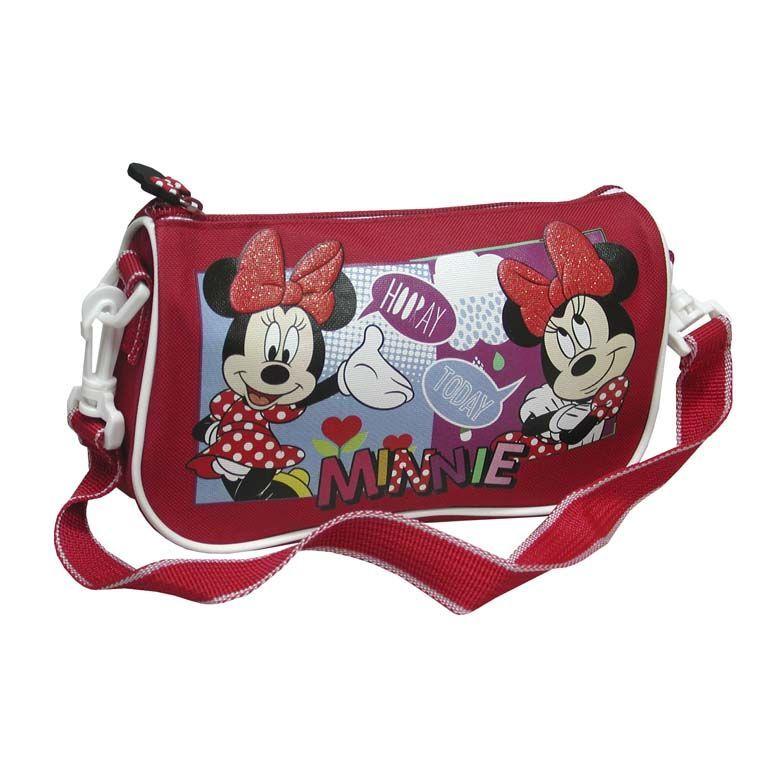 Taška přes rameno   kabelka Minnie Mouse červená 901e15c3d7b