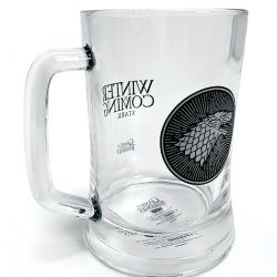Korbel Hra o trůny / Game Of Thrones House Stark skleněný 300 ml