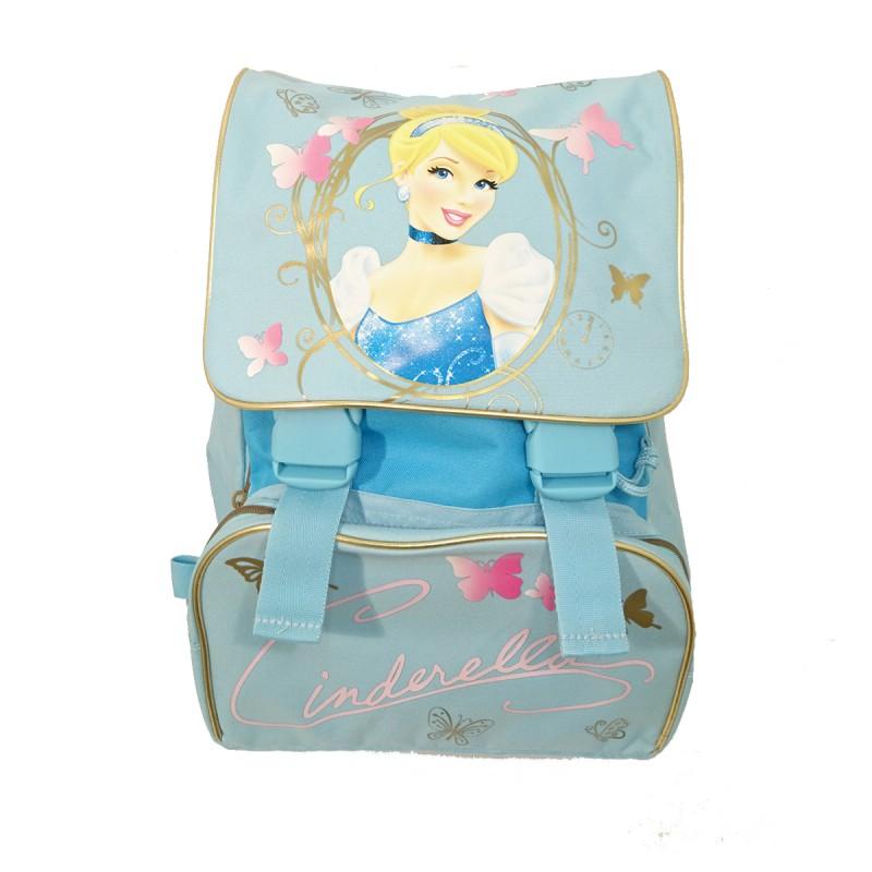 Dívčí školní zvětšovací batoh / aktovka Popelka 42 x 30 x 20 cm