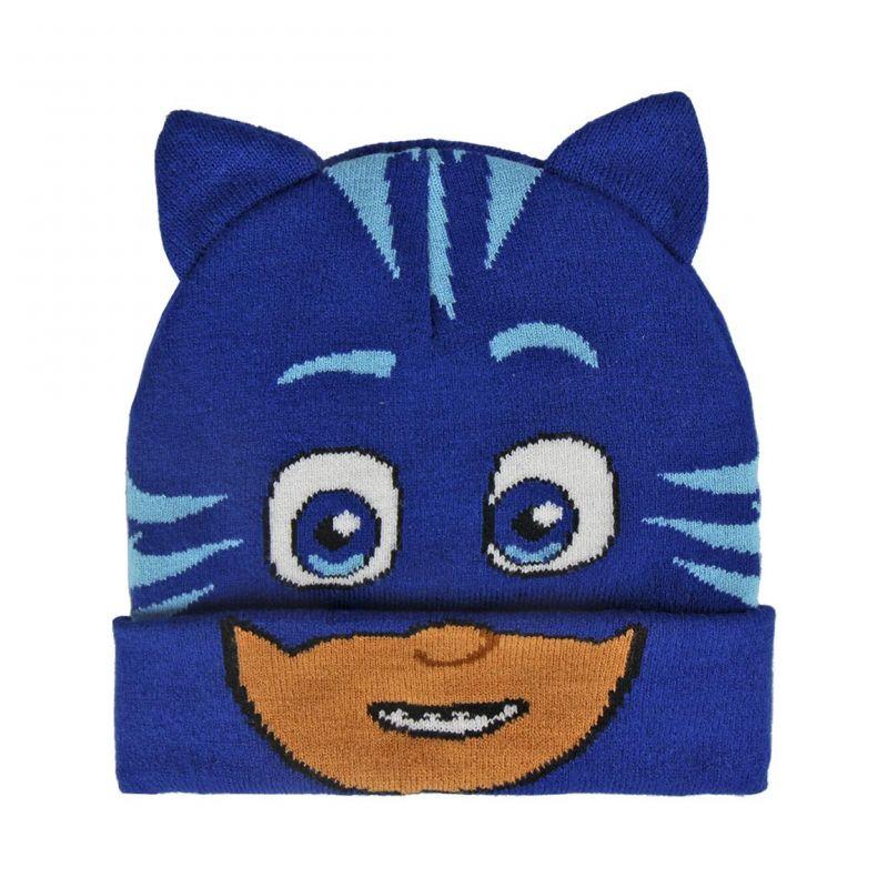 Podzimní   zimní čepice Pj Masks   Pyžamasky modrá UNI 1664a859a9