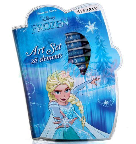Souprava ke kreslení Ledové království / Frozen 28 ks Elsa