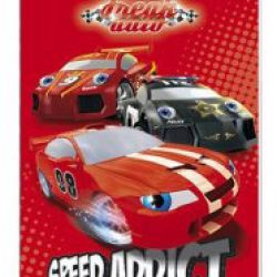 Notes A6  Auta / Cars 30 listů