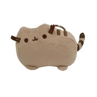Plyšová klíčenka / přívěsek kočička Pusheen 3D / 13 x 5 cm / vecizfilmu