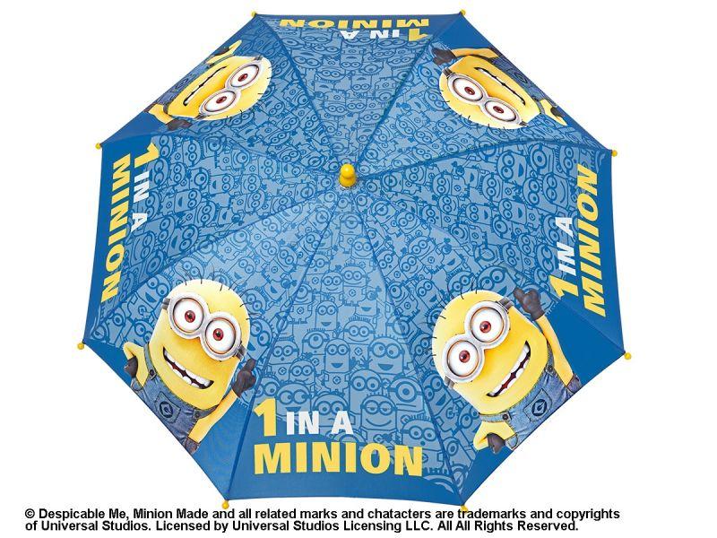 Deštník Mimoni / Minions manuální modrý