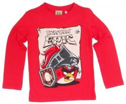 Tričko S Dlouhým Rukávem Angry Birds Epic Červené / Šedé