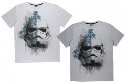 Pánské Triko S Krátkým Rukávem Star Wars Stormtrooper Bílé /šedé M-Xxl