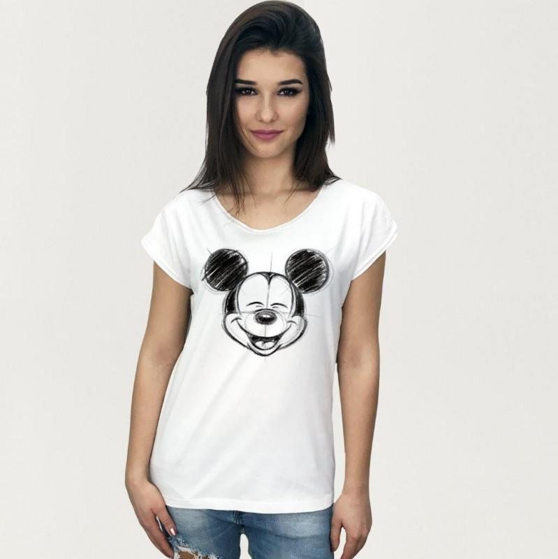 Dámské / Dívčí Tričko S Krátkým Rukávem Mickey Mouse S / M