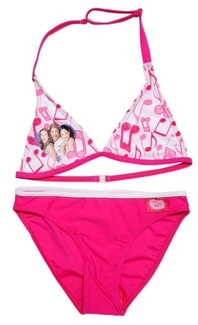 Dvojdílné Plavky Violetta Růžové