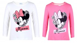 Tričko Minnie Mouse Bílé / Růžové / Black Friday