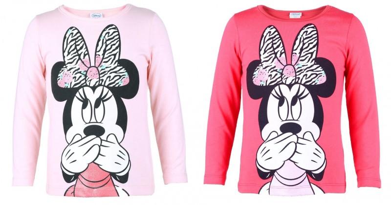 908de1ad2ad Tričko S Dlouhým Rukávem Minnie Mouse Růžové   Červené
