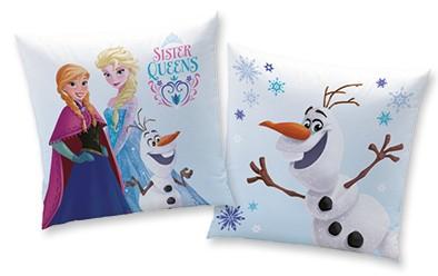 Polštář Ledové Království / Frozen Anna Elsa Olaf 40 X 40 Cm