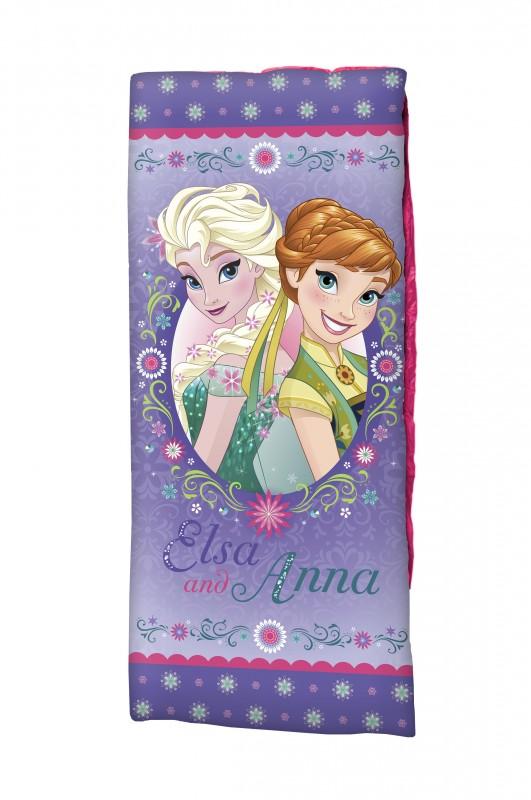 Spací Pytel Ledové Království / Frozen Anna Elsa 150 X 65 Cm