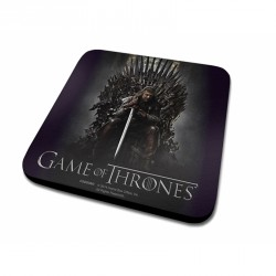 Hranatý podtácek 10 x 10 cm Hra o Trůny / Game of Thrones