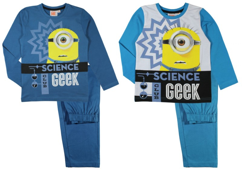 Pyžamo / domácí úbor  Mimoni / Minions Science Geek