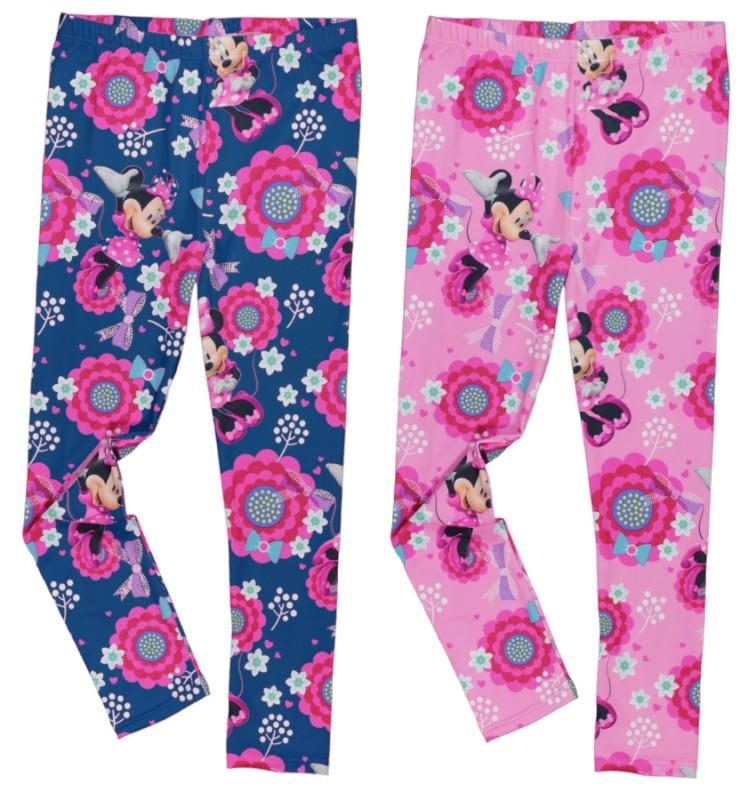 Legíny Minnie Mouse Modré / Růžové
