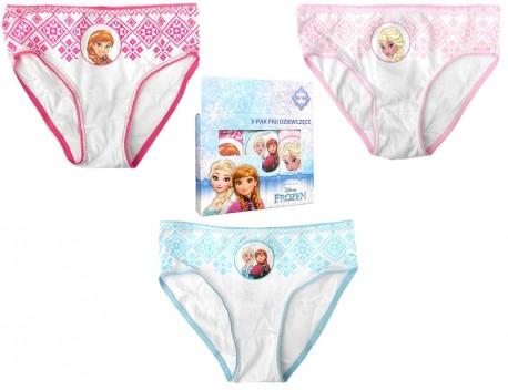 Dívčí Kalhotky Ledové Království   Frozen Anna Elsa Růžové bb72fe8278