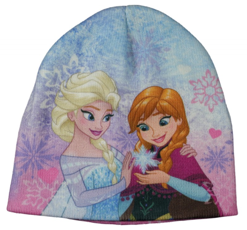 Zimní / Podzimní Čepice Ledové Království / Frozen Anna Elsa