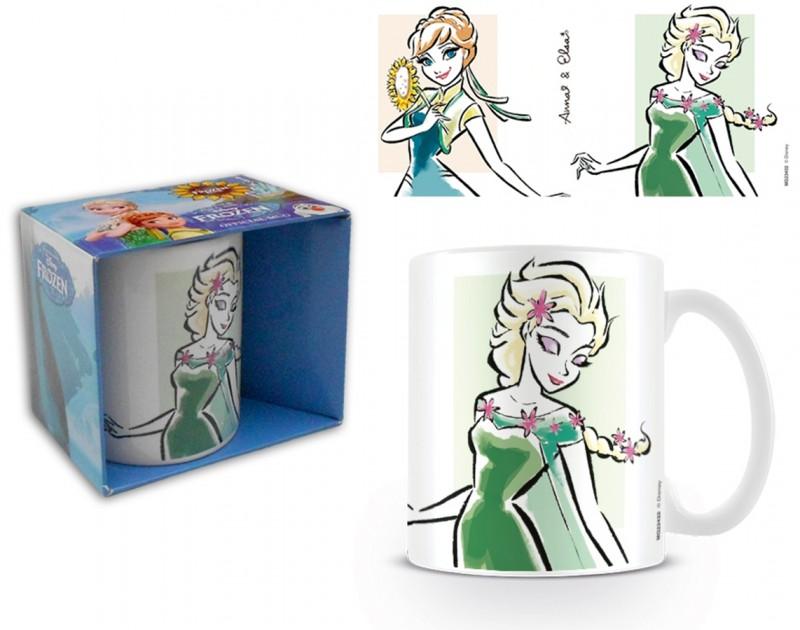 Keramický Hrnek Ledové Království / Frozen Anna Elsa 315 Ml
