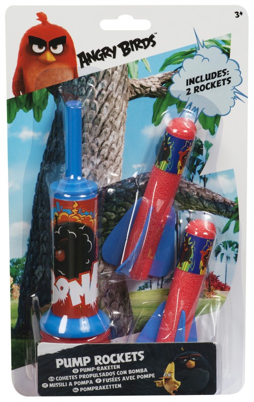 Pumpa + 2Ks Raket Angry Birds