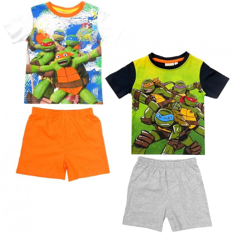 Chlapecké pyžamo / domácí úbor / tričko a kraťasy Želvy Ninja / Ninja Turtles