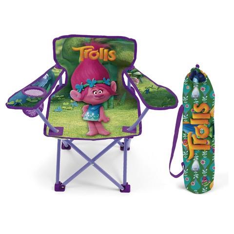 Kempingová Skládací Židle Trollové / Trolls