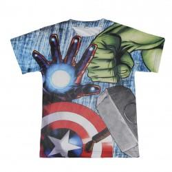 Tričko S Krátkým Rukávem Avengers 3D