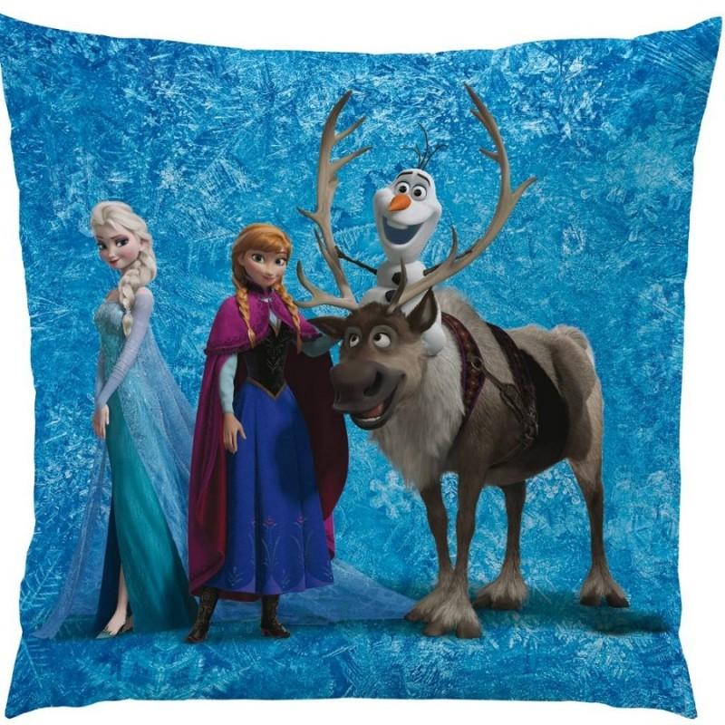 Polštář Ledové Království / Frozen Anna Elsa 40 X 40 Cm