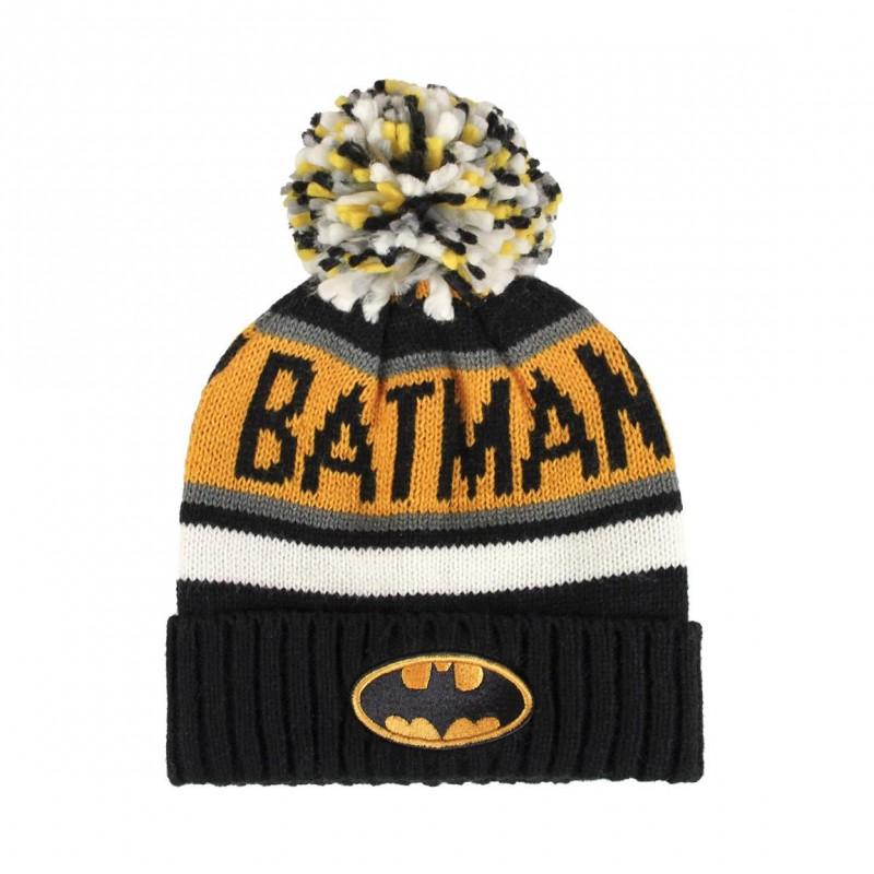 Zimní Čepice S Bambulí Batman Vel. 52 - 54