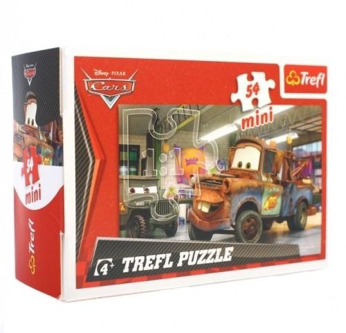 Mini Puzzle Auta  / Cars  54 Dílků