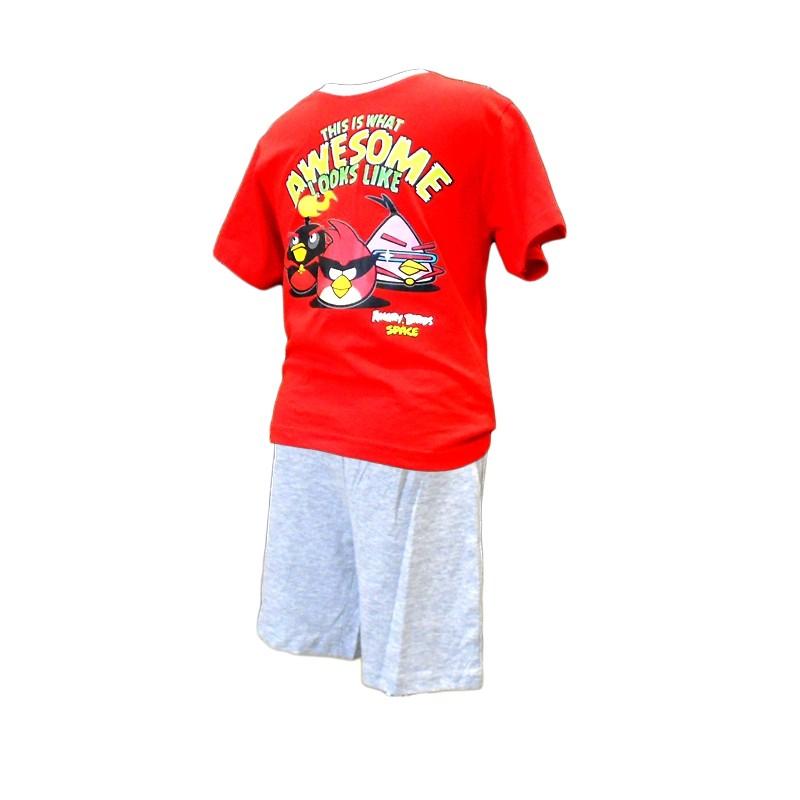 Chlapecké Pyžamo Angry Birds Červené