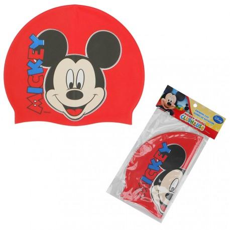 Plavecká Čepice Mickey Mouse Červená