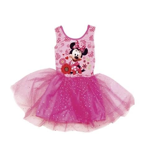 Dívčí šaty růžové se třpytkami Minnie Mouse velikost 92 / 104 / 116 cm