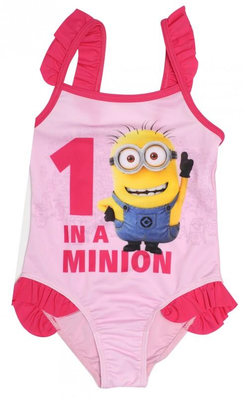 Dívčí Plavky Mimoni / Minions One In A Minion Růžové