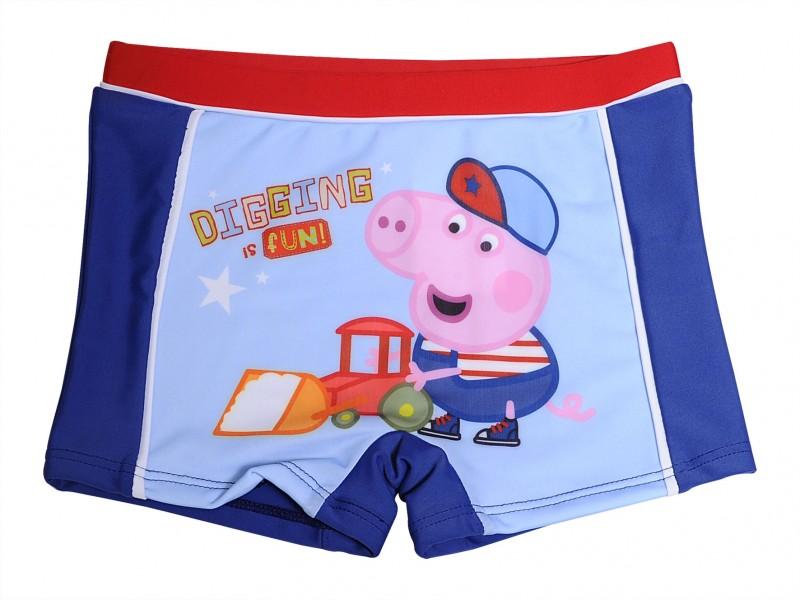 Chlapecké Plavky Prasátko Peppa / Peppa Pig Modré