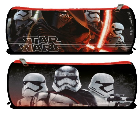 Penál Star Wars Stormtrooper Černý 22 Cm