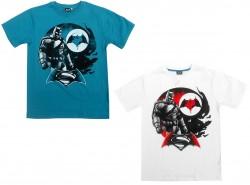 Pánské Tričko Batman Vs Spiderman Zelené / Bílé
