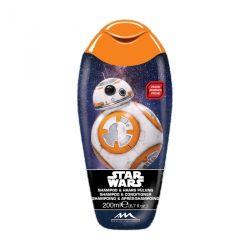 Šampon a kondicionér Star Wars R2-D2 Broskev 200 ml
