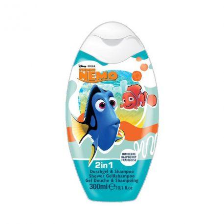 Sprchový gel a pěna Hledá se Nemo Malina 300 ml