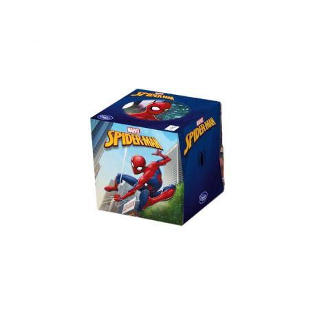 Kapesníky Spiderman v krabičce 60 ks potiskem 3 vrstvé