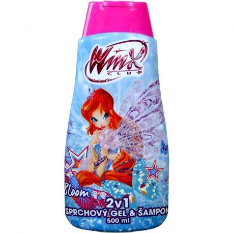 Sprchový gel + šampon Winx club  BLOOM 500 ml