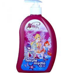 Tekuté mýdlo s dávkovačem Winx club  modré 500 ml