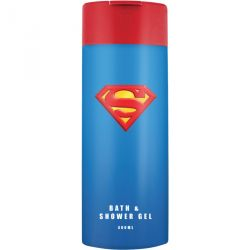 Sprchový gel a pěna do koupele Superman 400 ml