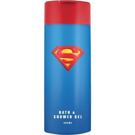 Sprchový gel a pěna do koupele Superman 400 ml