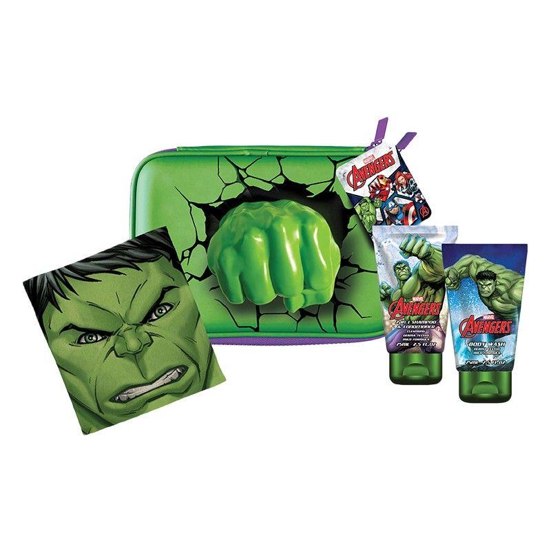 Sprchový gel a šampon s kondicionerem Avengers Hulk