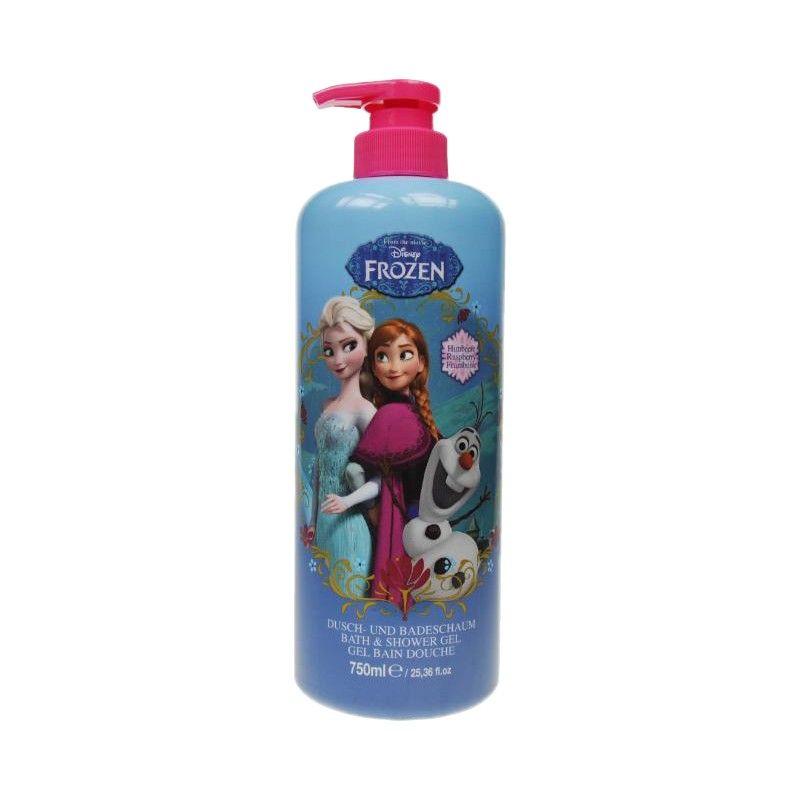 Sprchový gel a pěna Ledové království / Frozen Anna Elsa Olaf Malina 750 ml